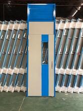 定制學校門烤漆鋼質門帶觀察口教室門宿舍鐵門圖片