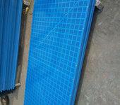 厂家生产销售安装蓝色建筑爬架网冲孔网