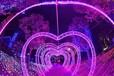 貴州黔南大型夢幻燈光展造型出租廠家浪漫主題燈光節道具租賃公司