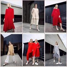 2017秋帛卡秀欧美时尚气质套装连衣裙品牌折扣女装开组合包走份