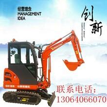 垦利电缆管道开挖选山鼎超实用小挖土机