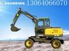 沙河西瓜用山鼎轮式挖机
