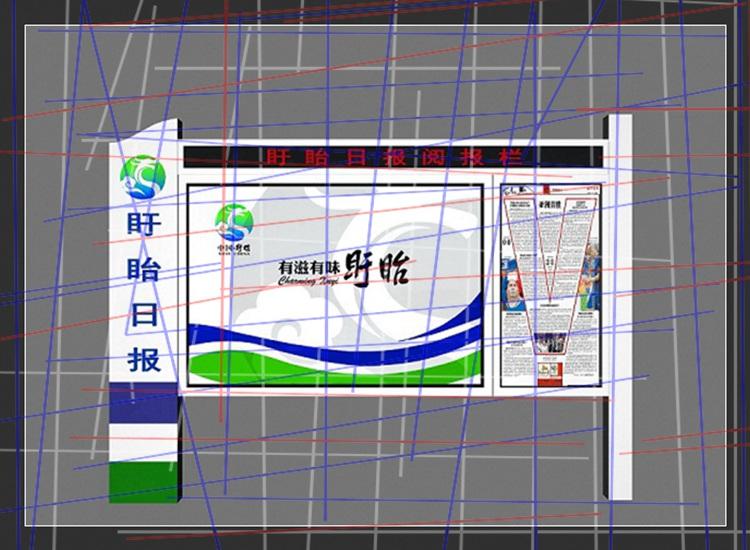 新闻:公交车站牌校园宣传栏灯箱