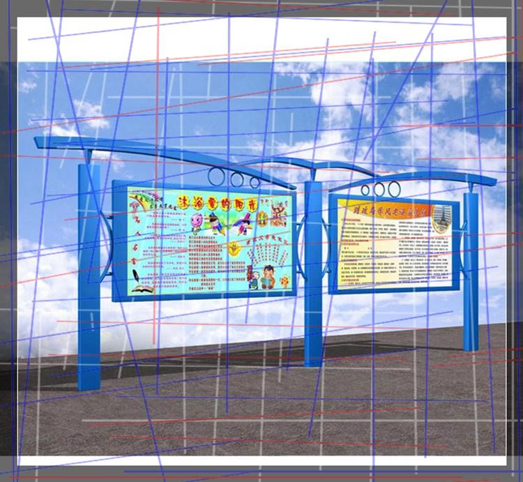 新闻:公交车站牌太阳能垃圾箱