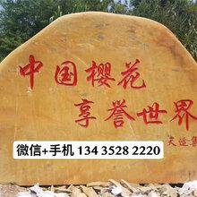 杭州大型公园景观石-大型刻字景观石价格