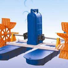 兩相電220V0.75kw1hp高效益2葉輪水車式增氧機圖片
