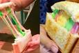 甜品彩虹面包加盟費用夫妻經營網紅火爆項目