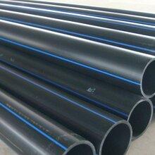 忻州PE管63和75顶管专用国标纯原料PE管材图片