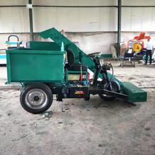 養豬場座駕式清糞車自吸型小型養殖場三輪鏟糞車圖片