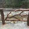 仿木栏杆施工