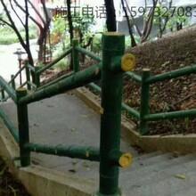 塑石假山瀑布施工仿木栏杆护栏施工队伍