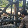 木纹树藤栏杆施工
