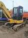 出售二手挖掘机小松55纯土方车