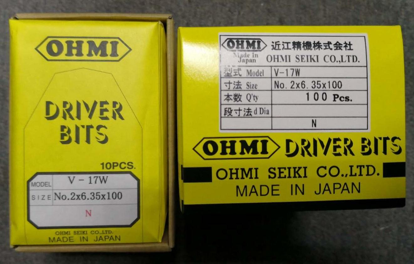 近江OHMI批头套筒V-17W系列No.2×6.35×100