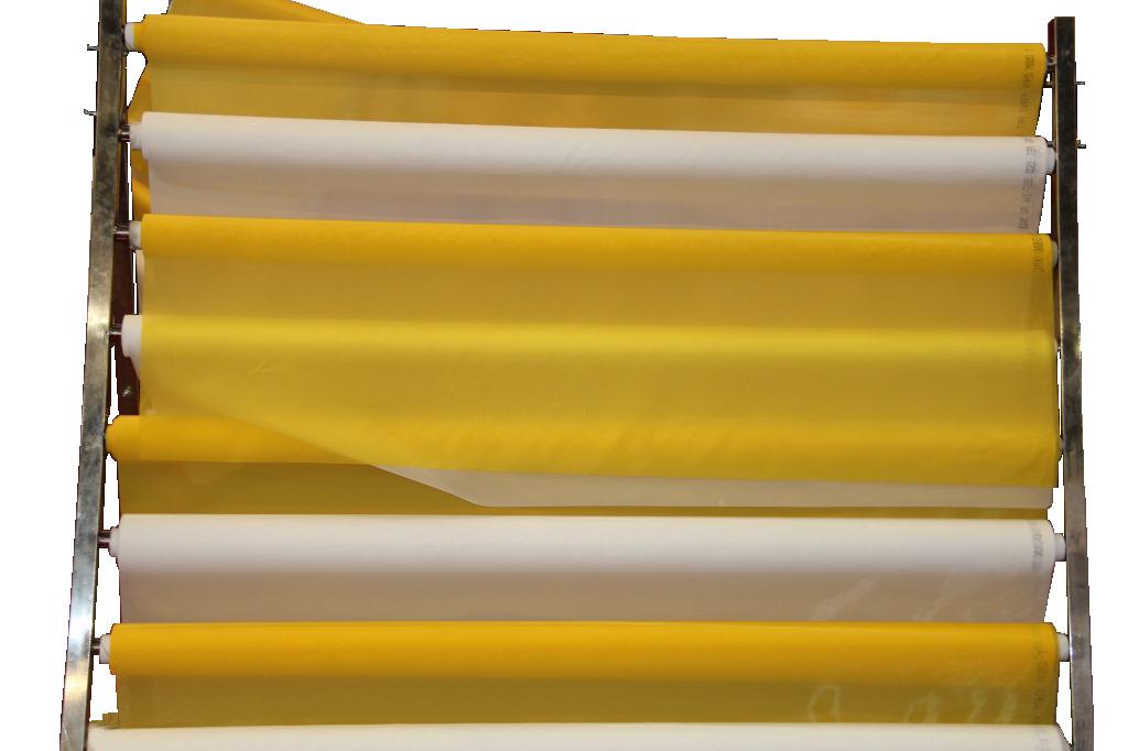 现货批发59T150目涤纶丝印网纱127宽145宽165宽等都有