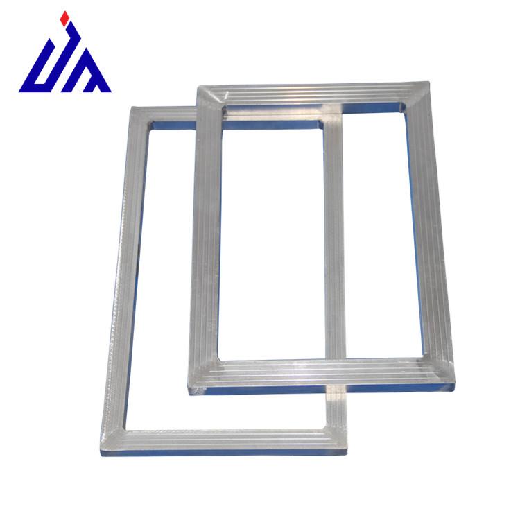 供应江阴高质量椭圆机跑台两用丝印铝合金网框印刷网版框厂
