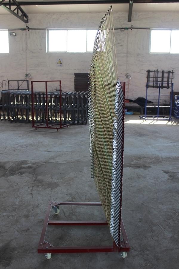 邯郸皮革标牌晾晒用丝印千层架丝印晾晒架厂家供应