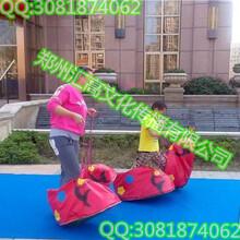 充气趣味拓展游戏器材介绍龟兔赛跑