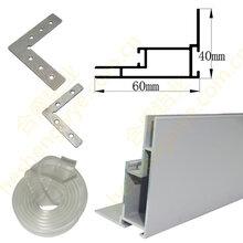 卡布灯箱铝型材拉布灯箱铝型材磁吸灯箱铝材可折弯灯箱铝材