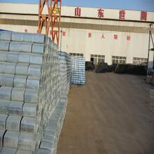 山东世腾厂家供应高速道路安全防114圆立柱防撞护栏板140圆立柱护栏板
