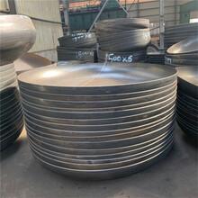 河北德昂專業加工熱壓三通無縫管帽大口徑國標碳鋼管件圖片
