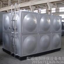 瑞创牌生活水箱组合式不锈钢屋面消防供水设备304不锈钢现场焊接