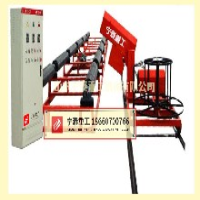 全自动钢筋笼滚焊机丨中国品牌钢筋笼绕筋机,选山东宁泰重工