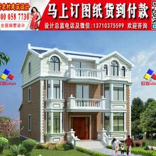 农村三层楼房新款图片复式Y665