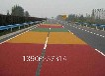 江干區路面處理工藝路面顏色更換噴涂彩色路面色差修復