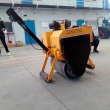 手扶式重型单轮压路机液压泵马达驱动仅售8500元