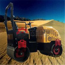 3吨座驾式压路机专业雨污管道施工