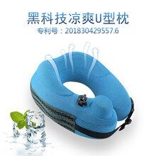 广东厂家直销定制加工生产U型枕生产护颈枕飞机旅行枕充气枕旅游户外枕图片