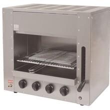 世锦国际SG-RMK4面火炉4头燃气面火炉燃气烧烤炉燃气烤炉烤鸡炉