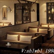 上海西餐厅双人沙发定制