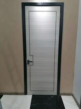 极简风格竹木门套色室内门实拍图零度无漆木门图片