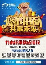 广东省汕头市集成墙面加盟
