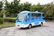 铜仁市观光车厂家DN-14F-5十四座海豚观光车