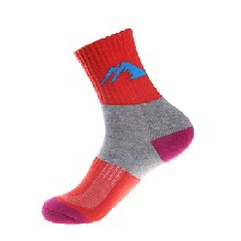 畅野/CHYEHI户外半厚女袜时尚条纹中筒袜精梳棉运动女袜批发W008