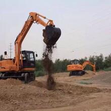 小型轮式挖掘机恒特挖掘机70轮式小挖