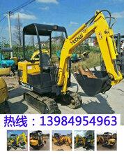 重庆小挖机回收公司图片