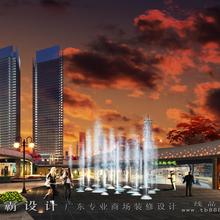 河南生活广场室内外装修设计