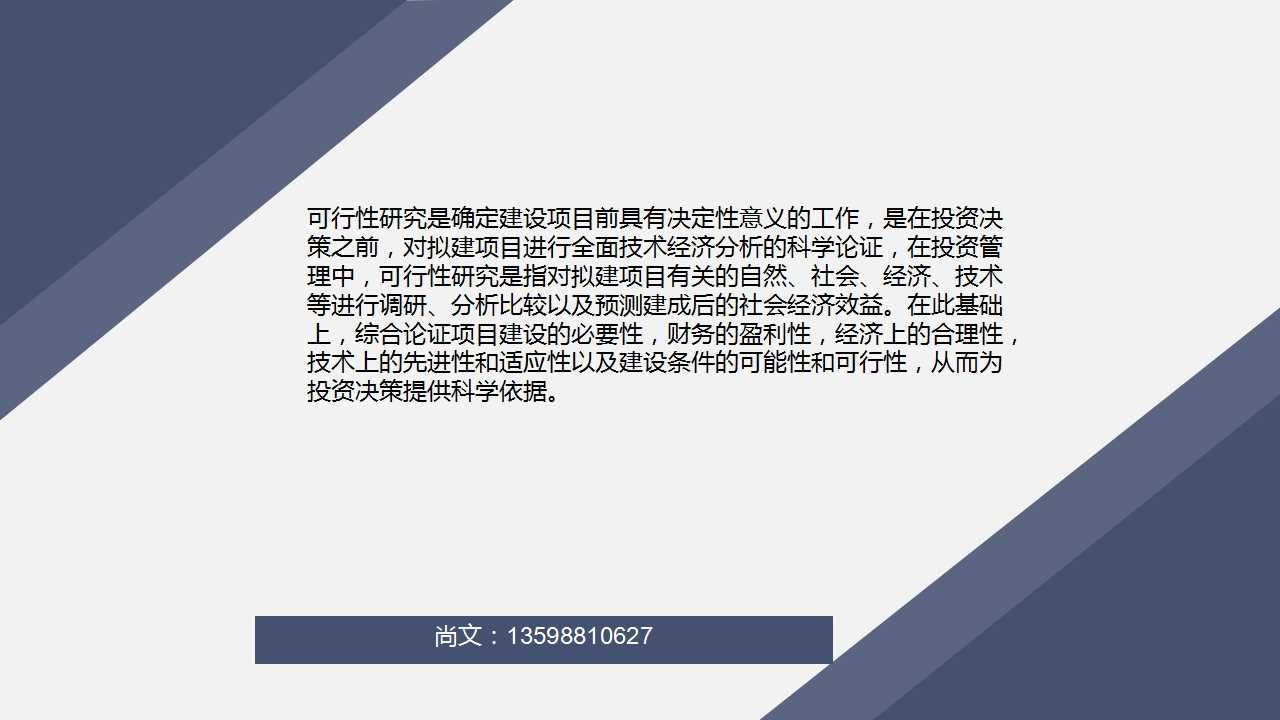 容县做项目申请报告的公司