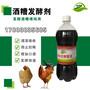 新一代养鸡致富之路发酵酒糟作饲料喂鸡图片