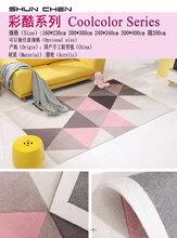 赣州市顺辰家居饰品有限公司顺辰地毯手工定制腈纶地毯工厂厂家酒店满铺地毯设计样