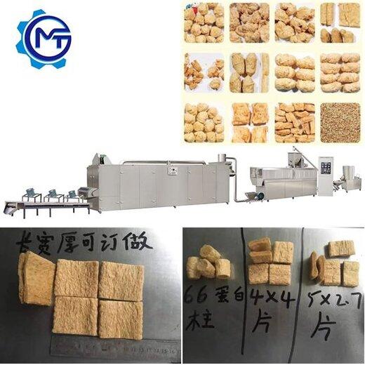 膨化組織蛋白素肉片設備五谷雜糧營養粉生產線廠家