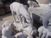 廠家直銷批發景觀石雕羊園林動物雕塑