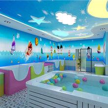 婴爱前线婴儿游泳馆婴儿多功能组装池