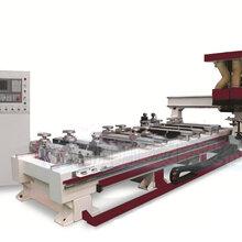 胜雕数控供应安徽明光高精度强吸附力四工序木工数控开料机下料机