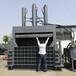 熱賣廢品站立式液壓打包機大型壓縮緊實紙箱塑料皮打包機