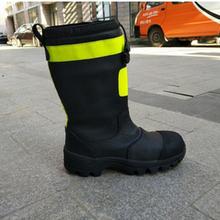 GA6-2004皮质灭火防护靴图片